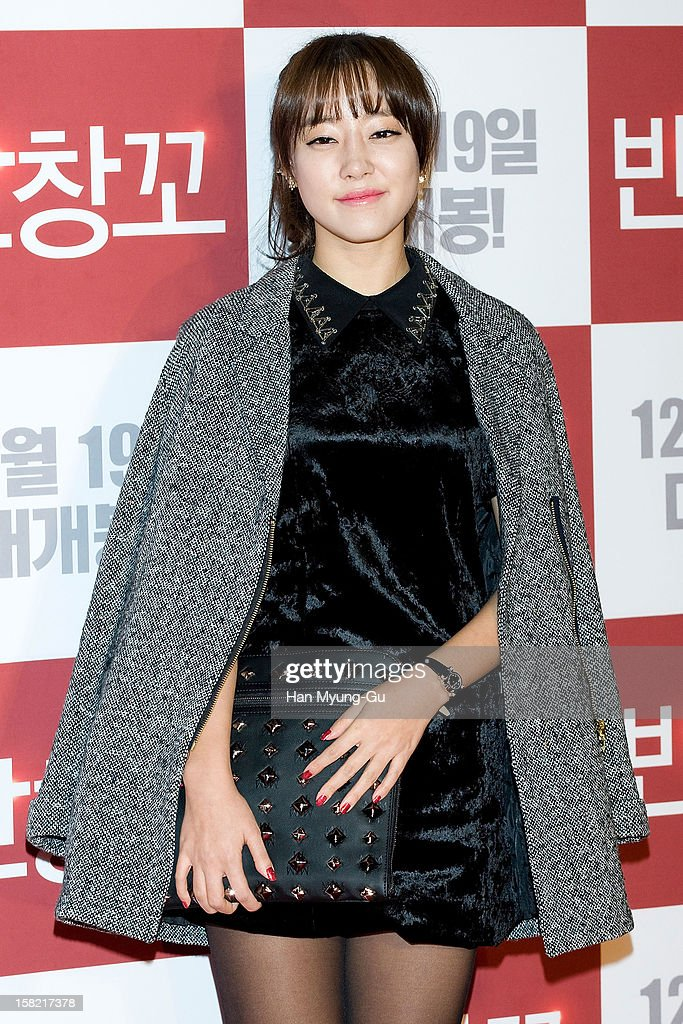 Koh Woo-Ri of South Korean girl group Rainbow attends the 'Love 119' VIP Screening at Kyung Hee University on December 11, 2012 in Seoul, South Korea. The film will open on December 19 in South Korea.