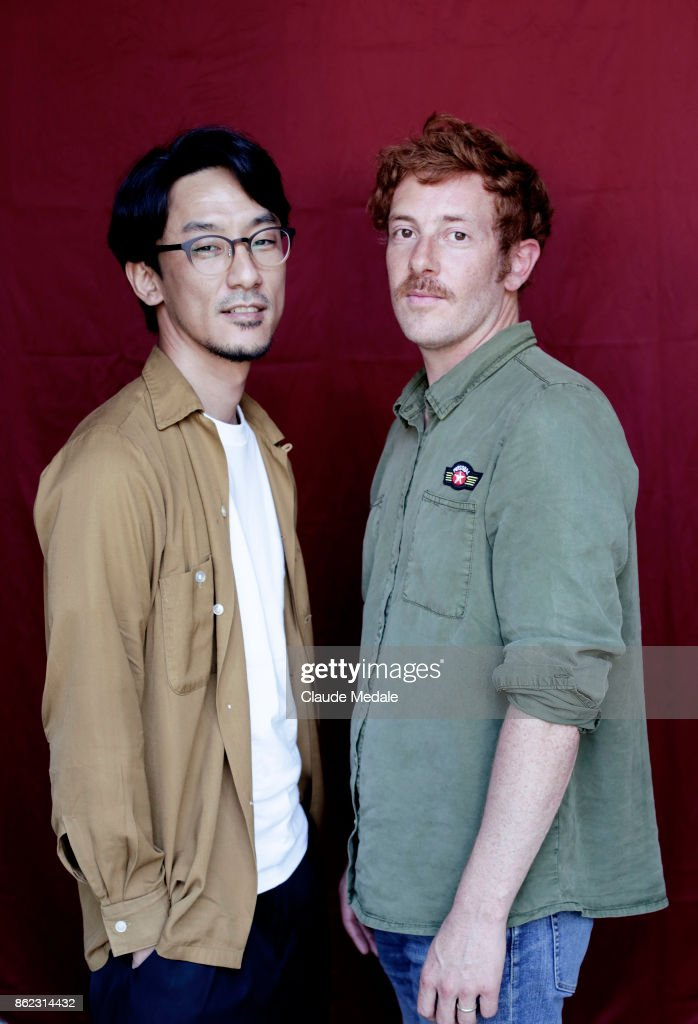 Damien Manivel and Kohei Igarashi Portrait Session - 65th San Sebastian Film Festival