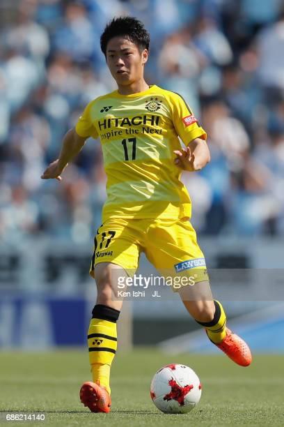 Kohei Tezuka of Kashiwa Reysol in action during the JLeague J1 match between Jubilo Iwata and Kashiwa Reysol at Yamaha Stadium on May 20 2017 in...