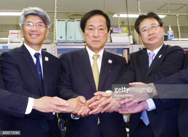 Koji Fujiwara executive managing director of Mizuho Bank Ltd who will become the bank's president Yasuhiro Sato president of Mizuho Financial Group...