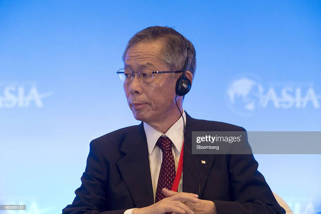 Koji Miyahara, chairman of Nippon Yusen Kabushiki Kaisha, listens during a session at the Boao Forum for Asia in Boao, Hainan, China, on Thursday, April 10, 2014. The Boao Forum for Asia takes place from April 8-11. Photographer: Brent Lewin/Bloomberg via Getty Images