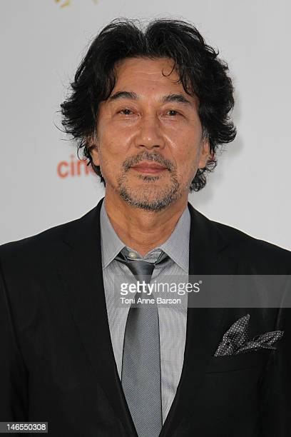 Koji Yakusho attends 'Orange Cinema Serie Party' at the MonteCarlo Bay Hotel Resort during the 52nd Monte Carlo TV Festival on June 13 2012 in...