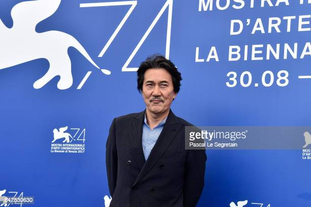 Koji Yakusho attends the 'The Third Murder ' photocall during the 74th Venice Film Festival on September 5 2017 in Venice Italy