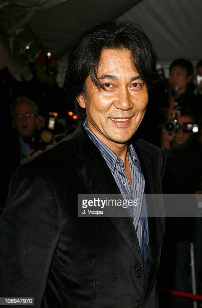 Koji Yakusho during 31st Annual Toronto International Film Festival Paramount Vantage Premiere of 'Babel' at Roy Thompson Hall in Toronto Canada