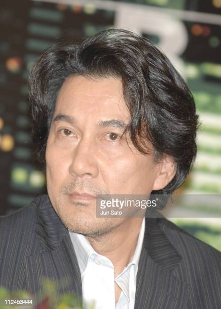 Koji Yakusho during 'Babel' Tokyo Press Conference with the Japanese Cast at The Westin Tokyo in Tokyo Japan
