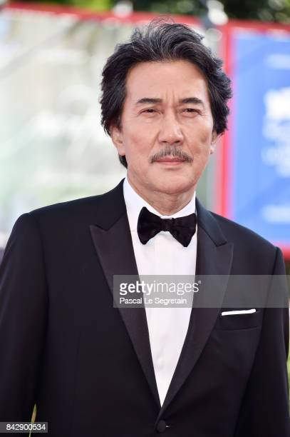 Koji Yakusho walks the red carpet ahead of the 'The Third Murder ' screening during the 74th Venice Film Festival at Sala Grande on September 5 2017...