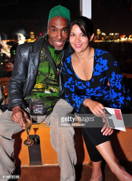 Kojo and Gem Bennedict attend NOWNESS Presents the New York Premiere of JeanMichel Basquiat The Radiant Child at MoMa on April 27 2010 in New York...