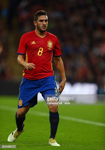 Koke of Spain during the International Friendly match between England and Spain at Wembley Stadium on November 15 2016 in London England