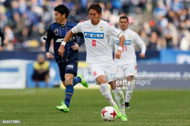 Koki Kiyotake of JEF United Chiba in action during the JLeague J2 match between Machida Zelvia and JEF United Chiba at Machida City Athletic Stadium...