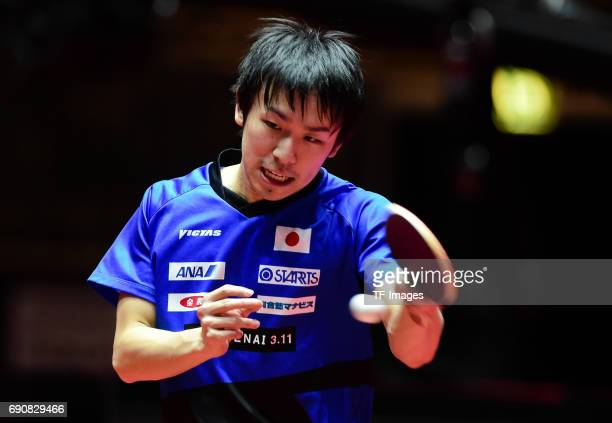 koki niwa 'n in action during the Table Tennis World Championship at Messe Duesseldorf on May 29 2017 in Dusseldorf Germany