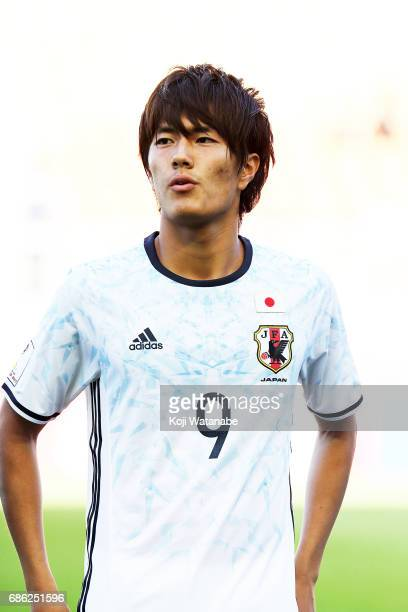 Koki Ogawa of Japan looks on during the FIFA U20 World Cup SKorea Republic 2017 group D match between South Africa and Japan at Suwon World Cup...