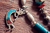"""""""Kokopelli Necklace. Kokopelli is known in American Indian culture as fertility god, prankster, healer and story teller."""""""