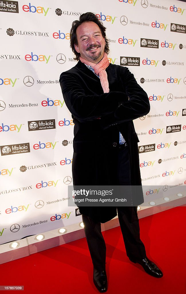 Kolja Kleeberg attends the Ebay Pop-Up Store opening at Oranienburger Strasse on December 6, 2012 in Berlin, Germany.