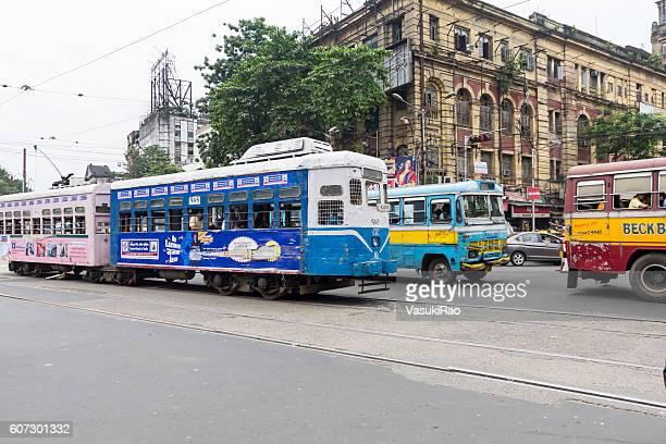 Kolkata tram, India