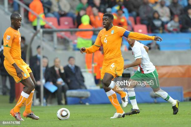 Kolo TOURE Cote d'Ivoire / Portugal Coupe du Monde 2010 Match 13 Groupe G Nelson Mandela Bay Stadium Port Elizabeth Afrique du Sud Photo Dave Winter...