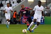Kolo Toure for Liverpool FC during the Europa League game between FC Girondins de Bordeaux and Liverpool FC at Matmut Atlantique Stadium on September...