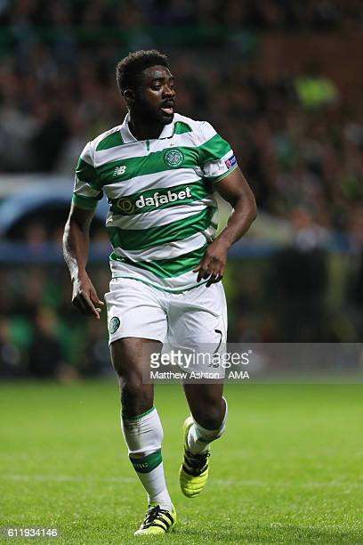 Kolo Toure of Celtic during the UEFA Champions League match between Celtic and Manchester City at Celtic Park on September 28 2016 in Glasgow Scotland