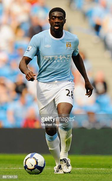 Kolo Toure of Manchester City during the pre season friendly match between Manchester City and Celtic at the City of Manchester Stadium on August 8...
