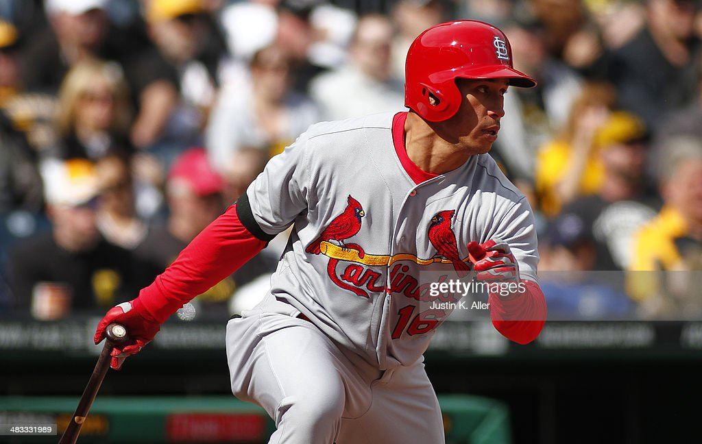 Kolten Wong #16 of the St. Louis Cardinals plays against the Pittsburgh Pirates during the game at PNC Park April 6, 2014 in Pittsburgh, Pennsylvania.