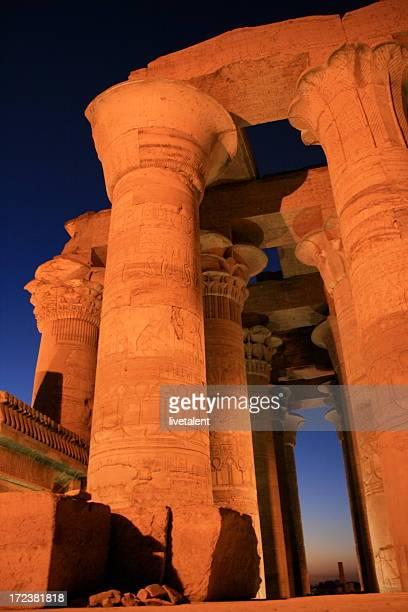 コムオンボ寺院には、ナイル川、エジプト