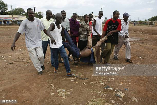 politics and violence in kenya Kamwenje (kenya) (afp) - footsteps came first, then unfamiliar voices, the smell of cow dung and the kicking in of the front door suddenly awake, john.