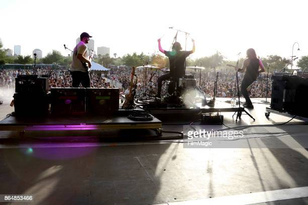 Kongos perform at Piestewa Stage during day 2 of the 2017 Lost Lake Festival on October 21 2017 in Phoenix Arizona