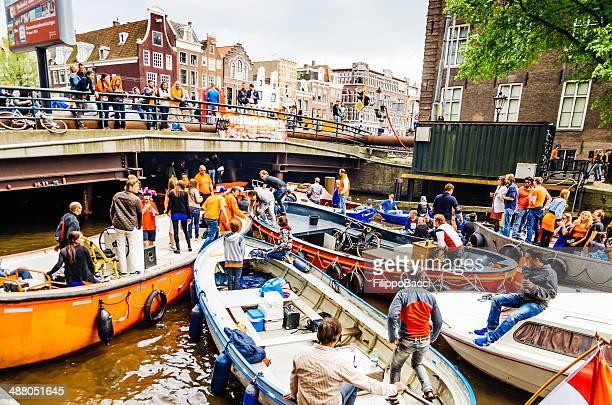 Koningsdag 2014 in Amsterdam