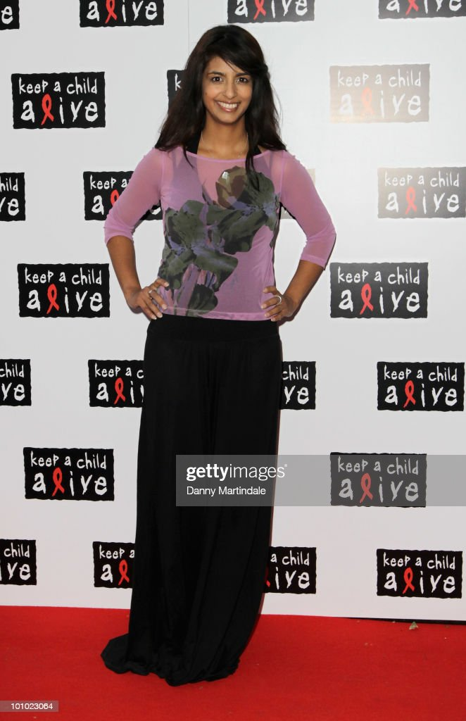 Konnie Huq attends the Keep A Child Alive Black Ball fundraiser on May 27, 2010 in London, England.