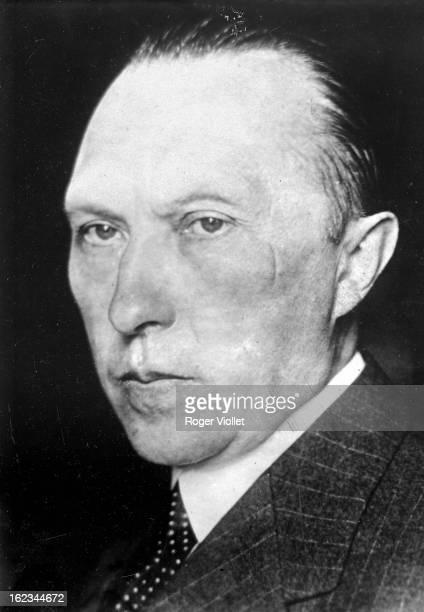 Konrad Adenauer German statesman as the mayor of Cologne circa 1917
