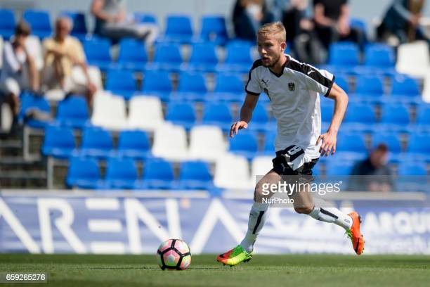 Konrad Laimer during the friendly match of national teams U21 of Austria vs The Netherlands in Pinatar Arena Murcia SPAIN March 27th 2017