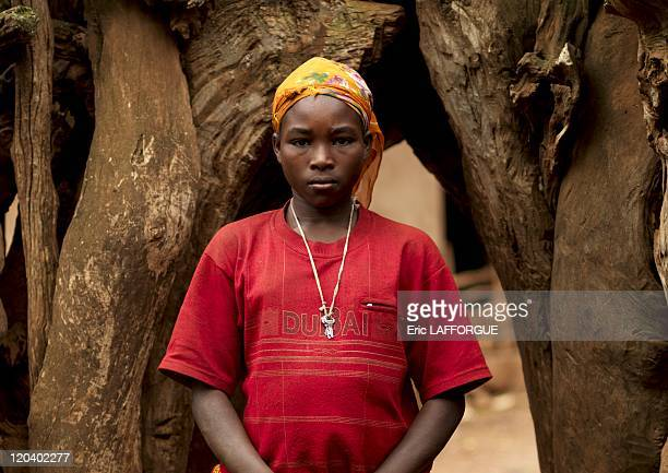 Konso woman in Ethiopia on October 23 2008 The 60000 members of the Konso nation live in Central Ethiopia south of Lake Chamo in the Rift Valley They...