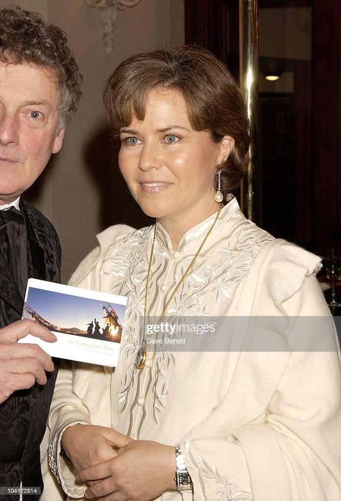 Koo Stark Looking Well After Her Cancer Ordeal, An Evening For Tebet At The Floral Hall, Royal Opera House, London