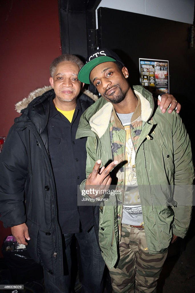 Kool DJ Red Alert and his son G Mims attend The Legendary Tunnel Party at B.B. King Blues Club & Grill on January 31, 2014 in New York City.