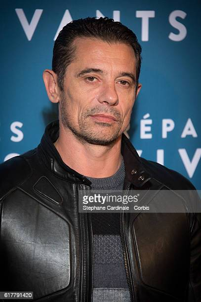 Kool Shen attends the 'Reparer Les Vivants' Paris Premiere on October 24 2016 in Paris France