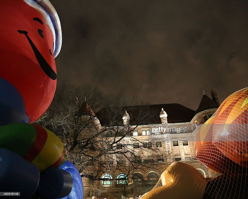 Kool-Aid Man during Inflation Eve at the American Museum of Natural History on November 27, 2013 in New York City.