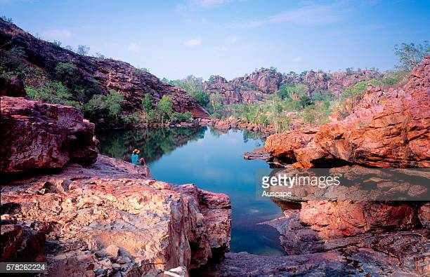 Koolpin Gorge Permits required for visiting Kakadu National Park Northern Territory Australia