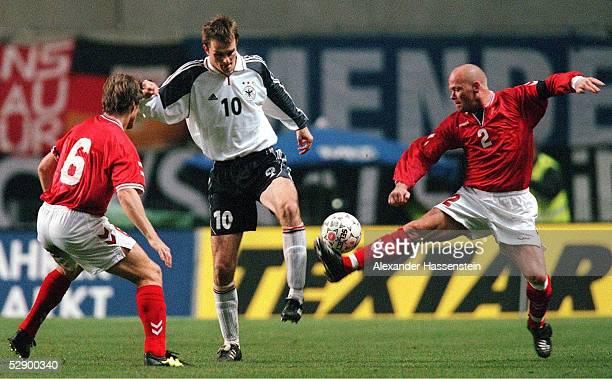 LAENDERSPIEL 2000 Kopenhagen DAENEMARK DEUTSCHLAND 21 Thomas HELVEG/DEN Dietmar HAMANN/GER Stig TOEFTING/DEN