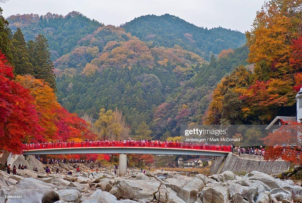 Korankei gorge in Aichi prefecture