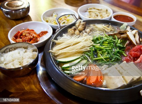 Corea comida : Foto de stock