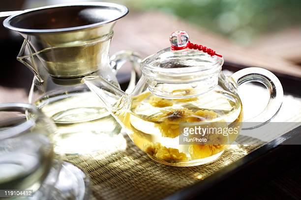 korea food,chrysanthemum tea,traditional tea