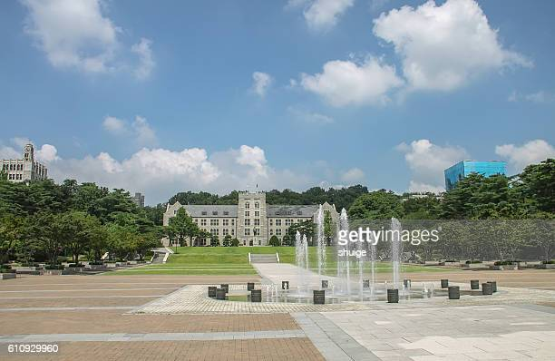 Korea university in Seoul, South Korea,Asia