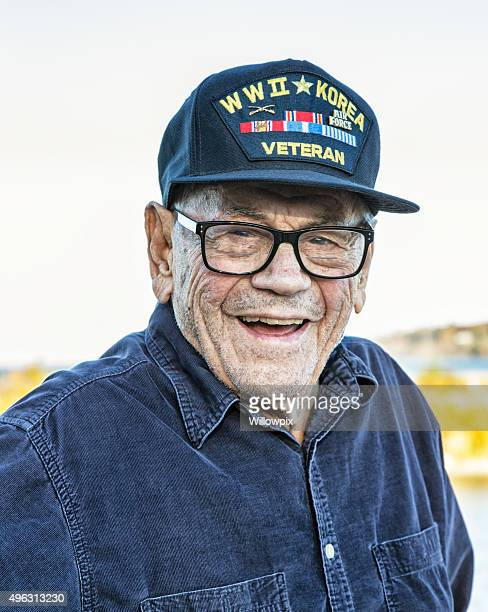 WWII Korea USA Military Veteran Portrait