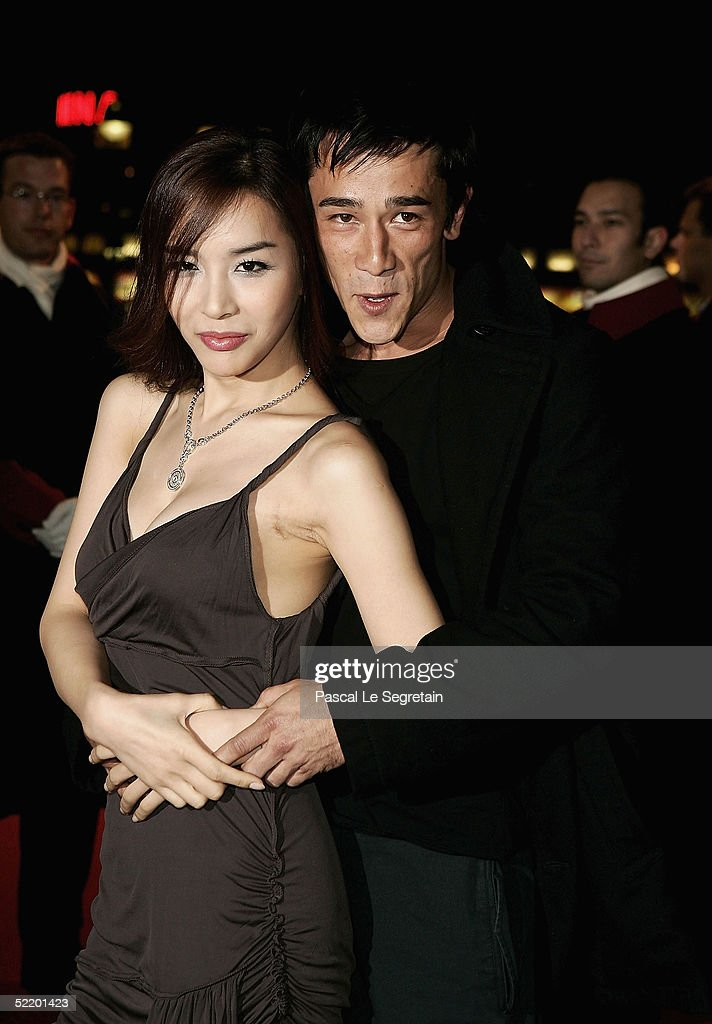 Korean actress Harisu and actor Carl Ng arrive for the 'Tao Se' Premiere at the Zoo Palast Theatre during the 55th annual Berlinale International...