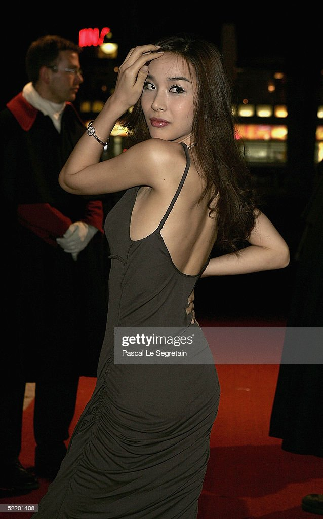 Korean actress Harisu arrives for the 'Tao Se' Premiere at the Zoo Palast Theatre during the 55th annual Berlinale International Film Festival on...