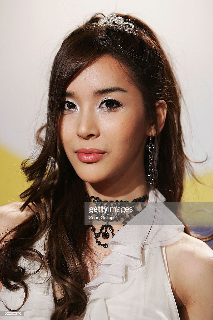 Korean actress Harisu attends the 'Tao Se' Press Conference during the 55th annual Berlinale International Film Festival on February 15 2005 in...