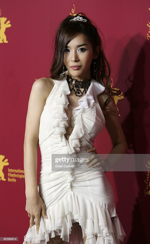 Korean actress Harisu poses at the 'Tao Se' photocall during the 55th annual Berlinale International Film Festival February 15 2005 in Berlin Germany