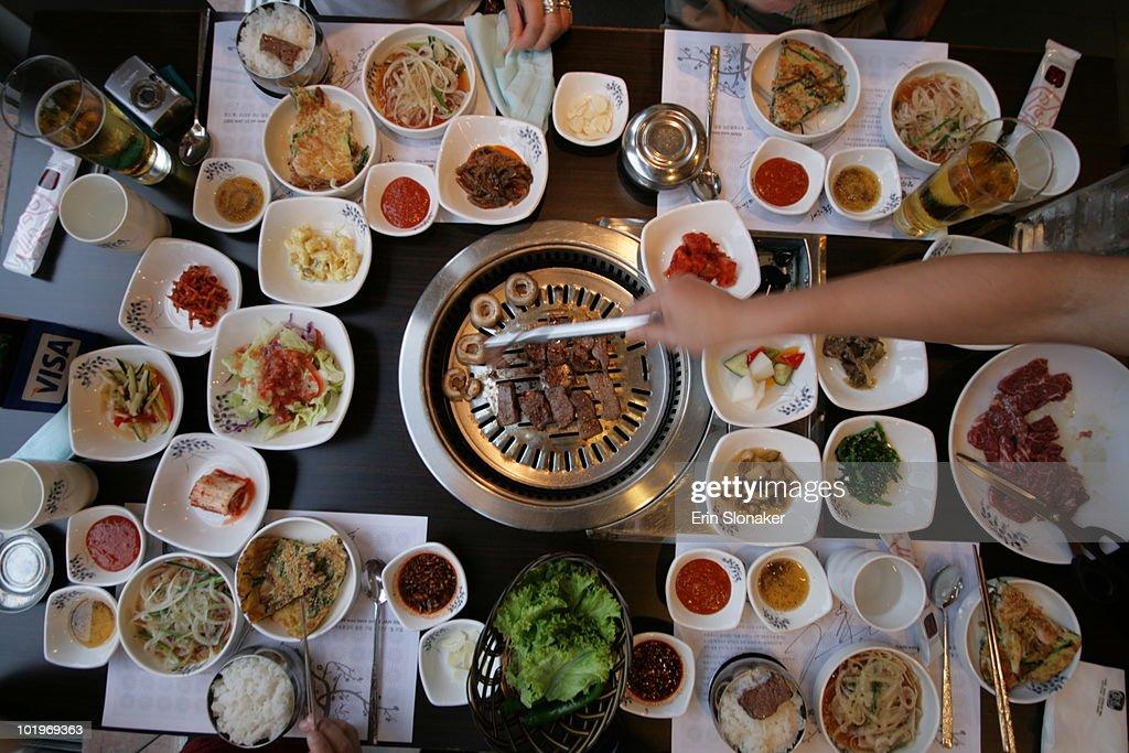 korean barbecue : Stock Photo