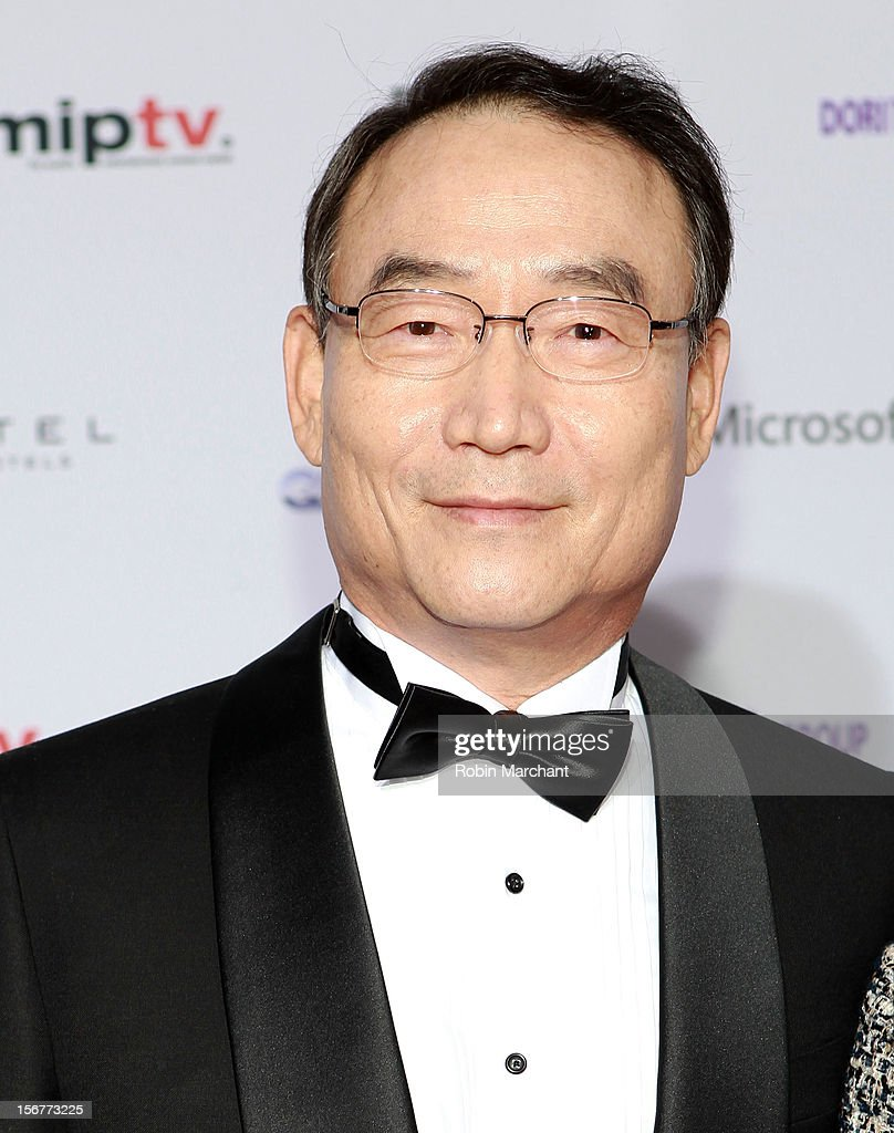 Korean Broadcasting System president and CEO Dr. Kim In-Kyu attends the 40th International Emmy Awards on November 19, 2012 in New York City.