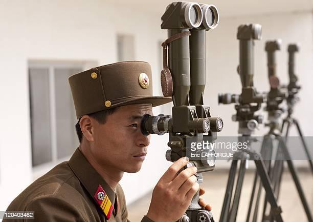 Korean demilitarized zone in North Korea on May 20 2009