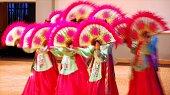 Korean folk dancers